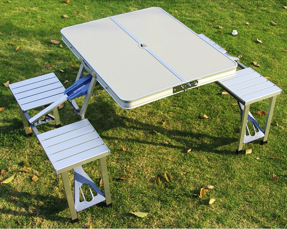 4 Seats Aluminum folding table from Artist Hand