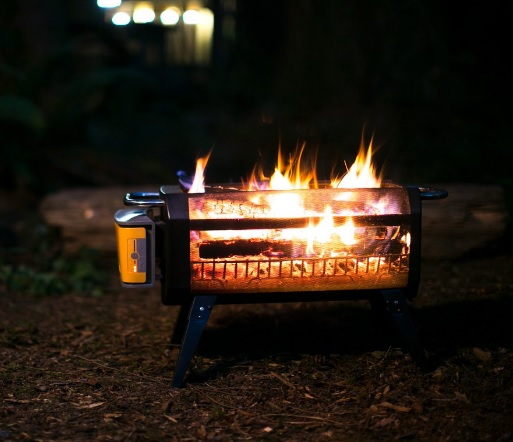 BioLite FirePit Outdoor Smokeless Fire Pit Grill
