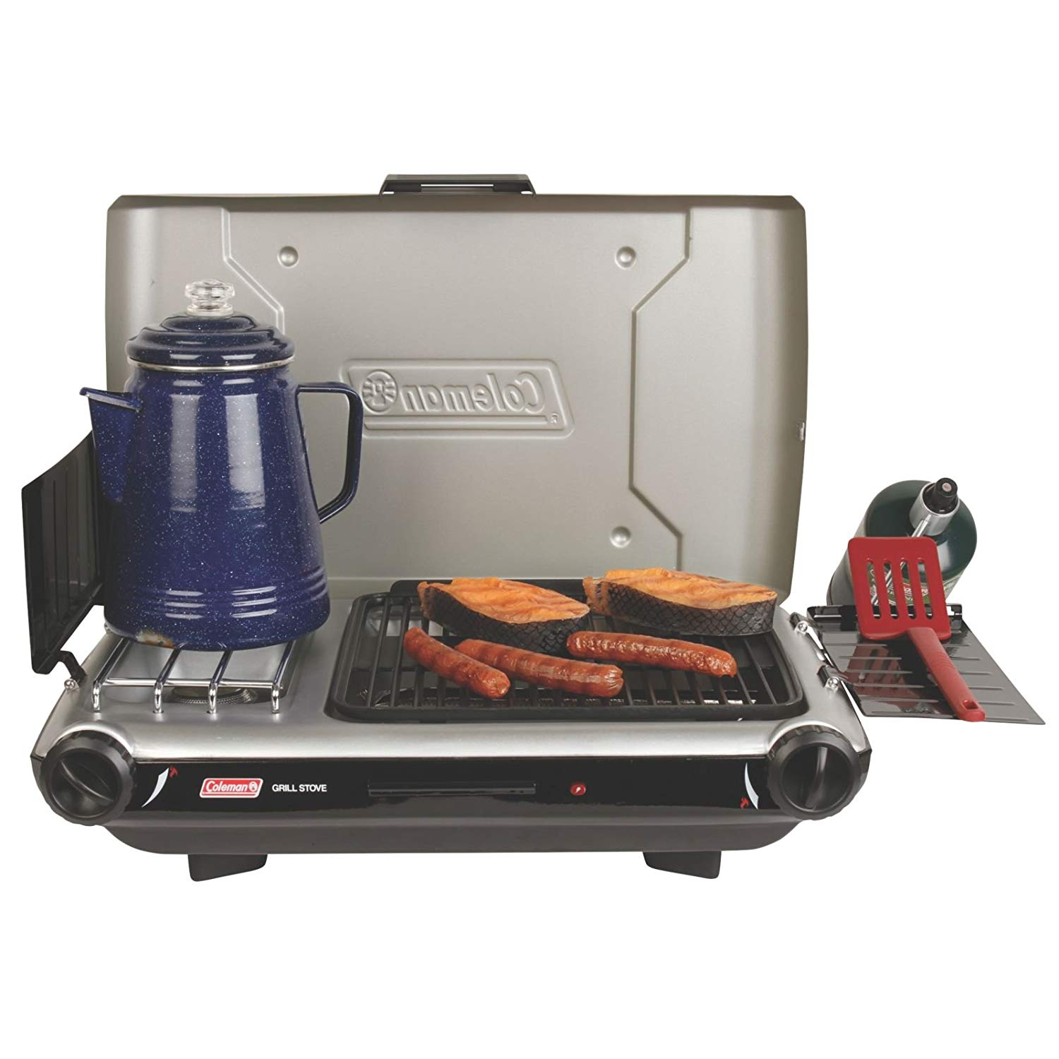 Coleman Camp Propane Grill Stove+