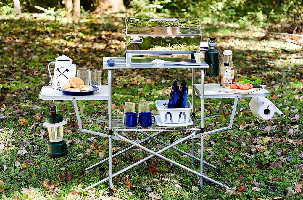 Deluxe Folding Grill table from Camco
