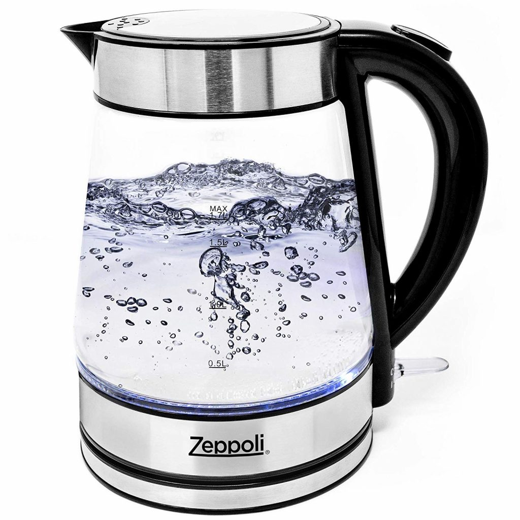 Zeppoli's Glass Tea Kettle
