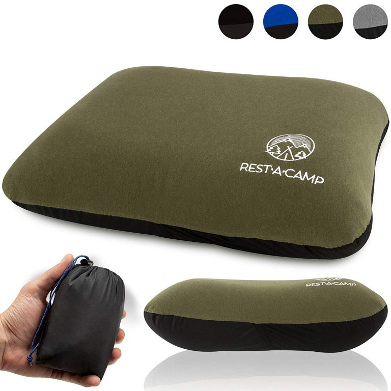 Inflatable Camping Travel Air Pillow
