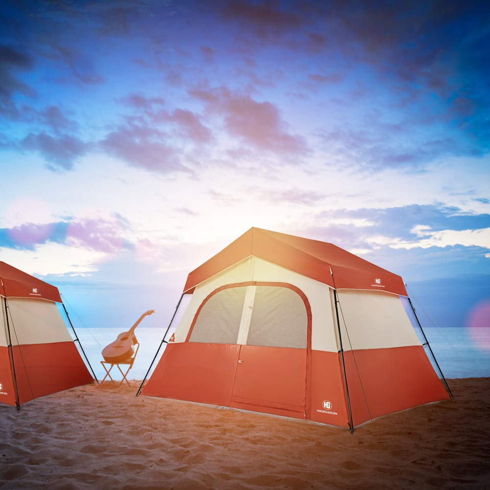 TO MOUNT 5 person tent