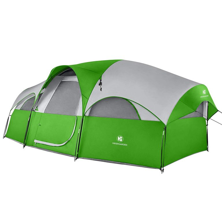 TO MOUNT 8 person tent