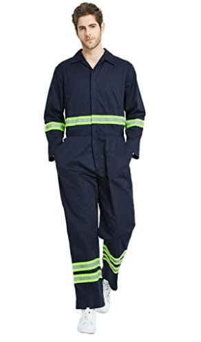 Top insulated coverall